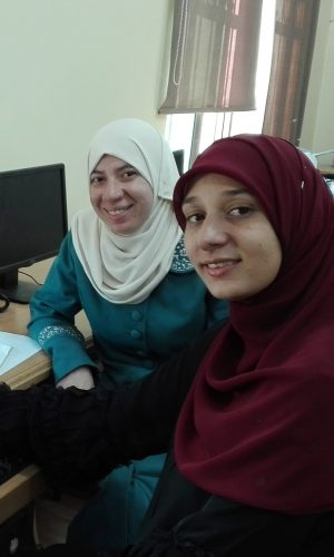 Students from the iEARN program in Jordan