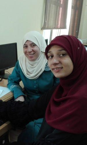 Students from the iEARN program in Jordan