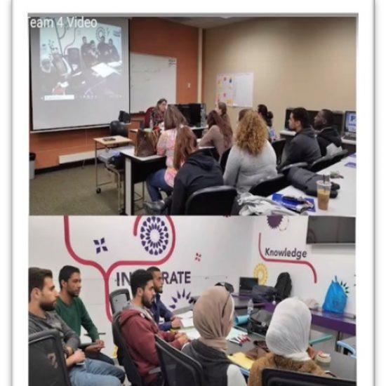 US and MENA team members on call